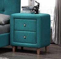 Noční stolek ATLANTIC, modrý