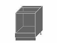 QUANTUM, skříňka dolní D11k 60, white mat/bílá