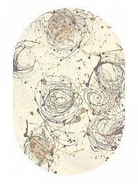 SAMIR kusový koberec 120x170, krémový, obdélník