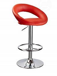 Smartshop Barová židle C-300, červená