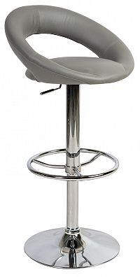 Smartshop Barová židle KROKUS C-300 šedá