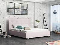 Smartshop Čalouněná postel SOFIE 1 140x200 cm, růžová látka