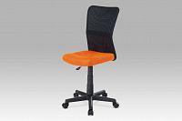 Smartshop Dětská židle  KA-2325, oranžová / černá