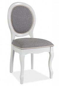 Smartshop Jídelní čalouněná židle FN-SC, bílá