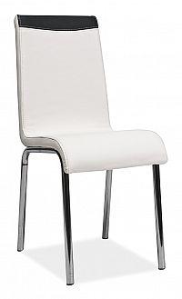 Smartshop Jídelní čalouněná židle H-161, bílá