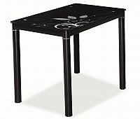 Smartshop Jídelní stůl DAMAR, černá