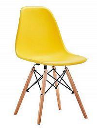 Smartshop Jídelní židle MODENA, žlutá