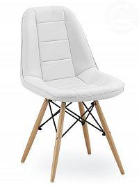 Smartshop Jídelní židle VERDI, bílá