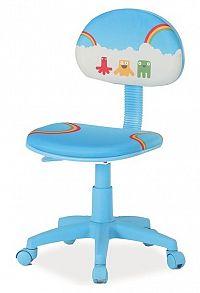 Smartshop Kancelářská židle HOP 2, modrá