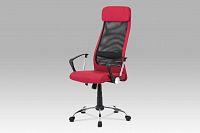 Smartshop Kancelářská židle KA-V206 BOR, bordó/černá