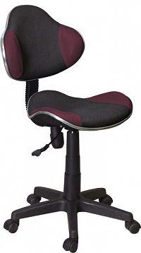 Smartshop Kancelářská židle Q-G2 černá/fialová