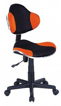 Smartshop Kancelářská židle Q-G2 černá/oranžová