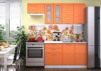 Smartshop Kuchyně TECHNO 200, oranžová metalic