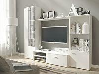 Smartshop Obývací stěna HUGO, matná bílá