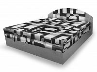 Smartshop Polohovací čalouněná postel VESNA 180x200 cm, šedá látka