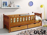 Smartshop Postel GUCIO 90x190 cm, masiv borovice/barva:..