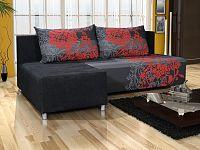 Smartshop Rohová sedačka ESPANA 8, černá