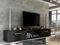 Smartshop Televizní stolek MOLTON RTV, černý mat