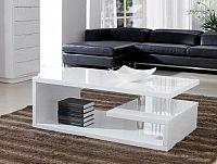 Smartshop TIERA OP, konferenční stolek, bílý lak