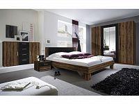 Smartshop VERA ložnice s postelí 180x200, dub monastery/černá