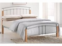 TEMPO KONDELA, manželská postel MIRELA 180x200 cm s roštem