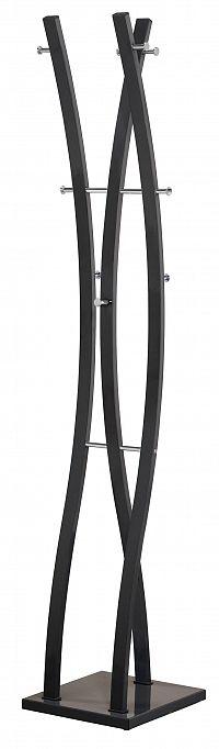 Věšák W-50, výška 179 cm, černý