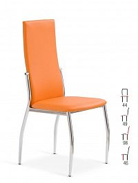 Židle K-3, oranžová
