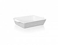 BANQUET Zapékací forma čtvercová 28,5x24cm Culinaria White
