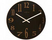 Designové nástěnné hodiny 2472zw Nextime Smoke Mirror 43cm