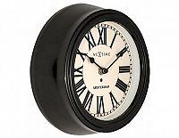Designové nástěnné hodiny 3152zw Nextime Amsterdam 22cm