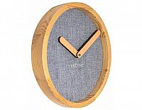Designové nástěnné hodiny 3155gs Nextime Jeans Calm 30cm