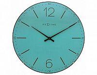 Designové nástěnné hodiny 3159tq Nextime Index Dome 35cm