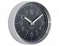 Designové nástěnné hodiny 5637BK Karlsson 22cm