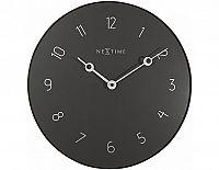 Designové nástěnné hodiny 8193gs Nextime Carousel 40cm