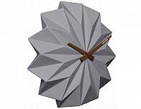 Designové nástěnné hodiny KA5531GY Karlsson Origami 27cm
