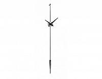 Designové nástěnné hodiny Nomon Punto y coma I black 113cm