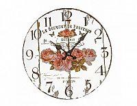 Designové nástěnné zrcadlové hodiny 14879 Lowell 33cm