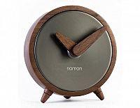 Designové stolní hodiny Nomon Atomo Graphite 10cm