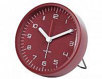 Designový budík 5647RD Karlsson 9cm