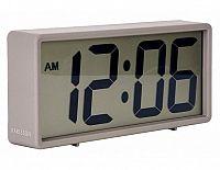 Digitální stolní i nástěnné hodiny/budík 5646GY Karlsson 18cm