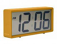 Digitální stolní i nástěnné hodiny/budík 5646YE Karlsson 18cm