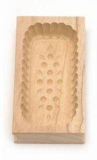 Forma na máslo obdélníková - 250 g - javorové dřevo - Klawe
