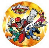 Jedlý papír Power Rangers D - Modecor