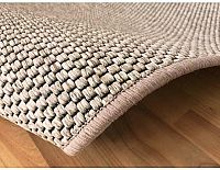 Kusový koberec Nature světle béžová
