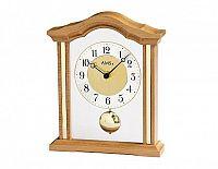 Luxusní dřevěné stolní hodiny 1174/18 AMS 23cm