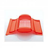 Napařovací pouzdro do mikrovlnné trouby červené 650ml - Lékué