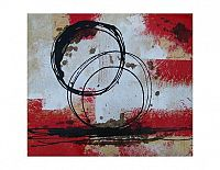 Obraz- Abstrakce v červeném
