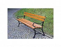 Parková lavice s područkami