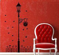 Samolepka na zeď Městská lampa - nalepimeto