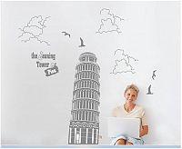 Samolepka na zeď Šikmá věž v Pise - nalepimeto